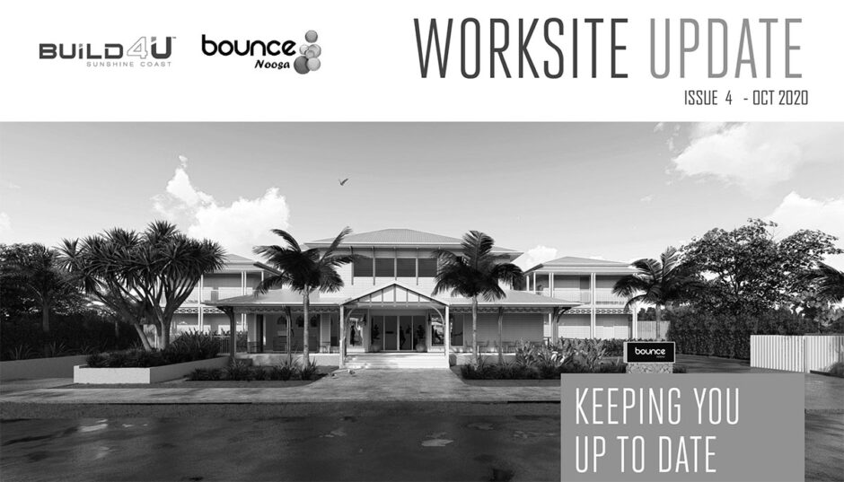 Bounce Noosa Construction Update 4
