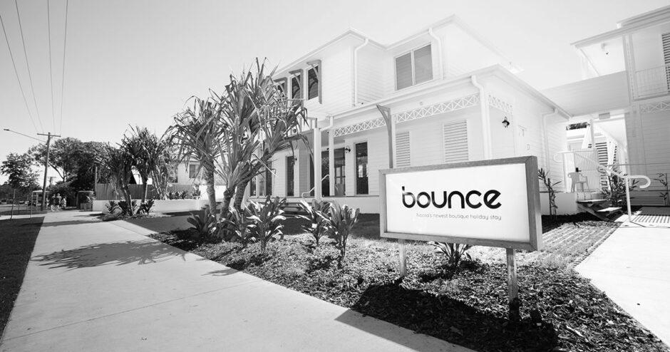 Bounce Noosa welcoming guests